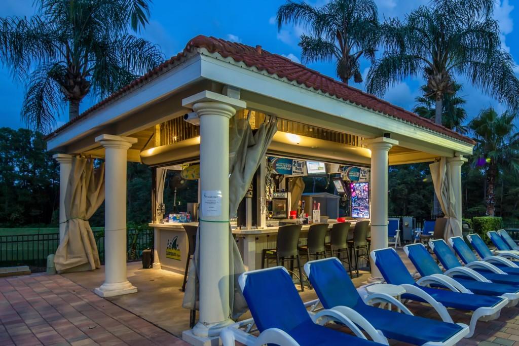 Emerald Island Resort Tiki Bar Menu