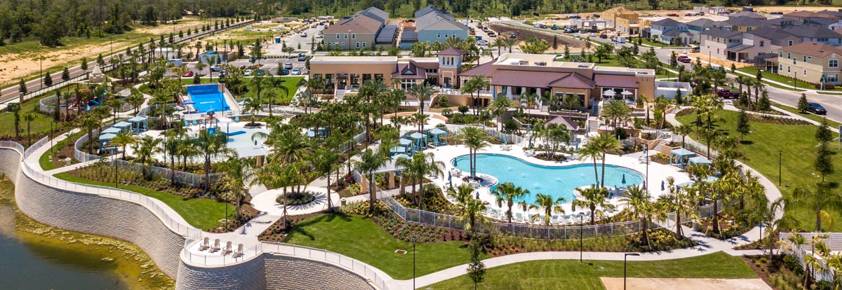 Solara Resort Clubhouse in Orlando, Florida