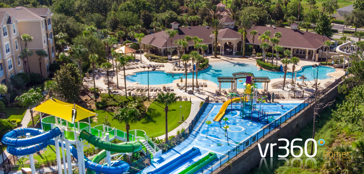 Windsor Hills Resort Clubhouse with Water Slides and Splash Park