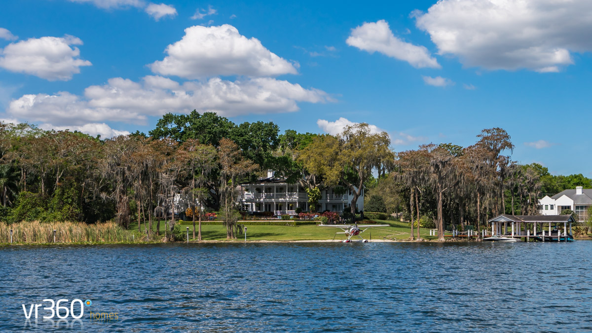 Stunning houses on Butler Lakes Orlando