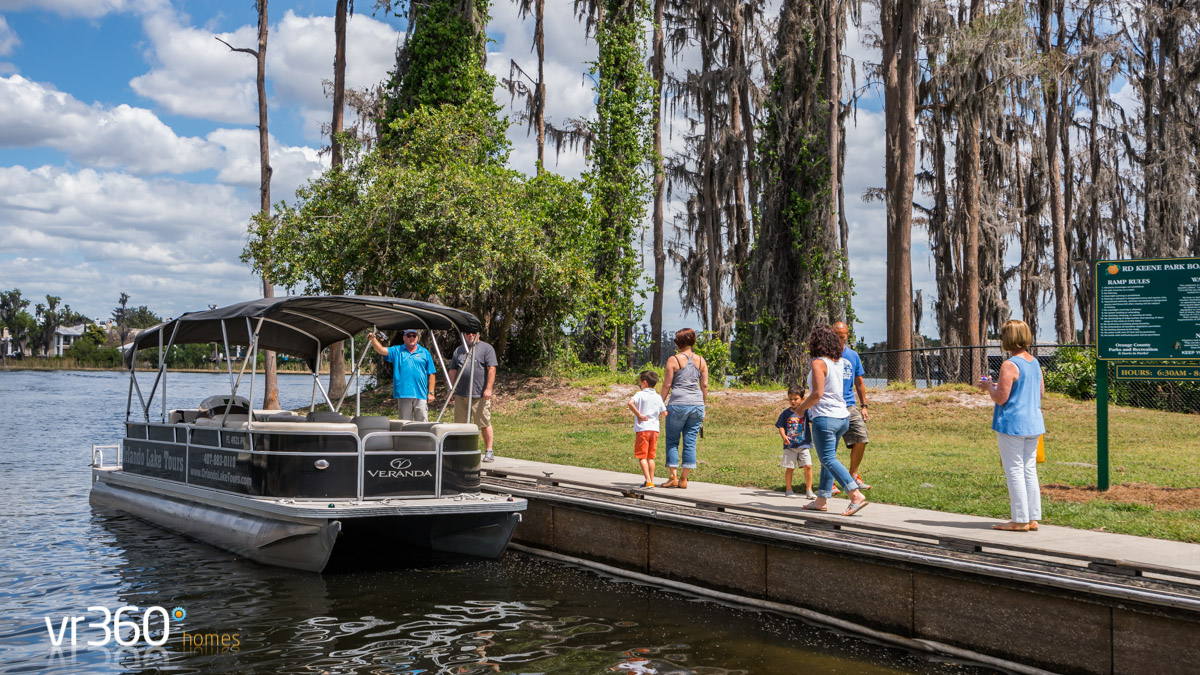 Orlando Boat Tours on Butler Chain of Lakes