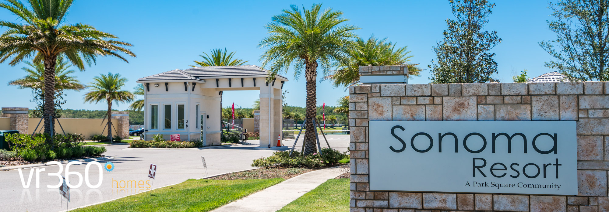 Sonoma Resort Gated Entrance in Kissimmee, Florida