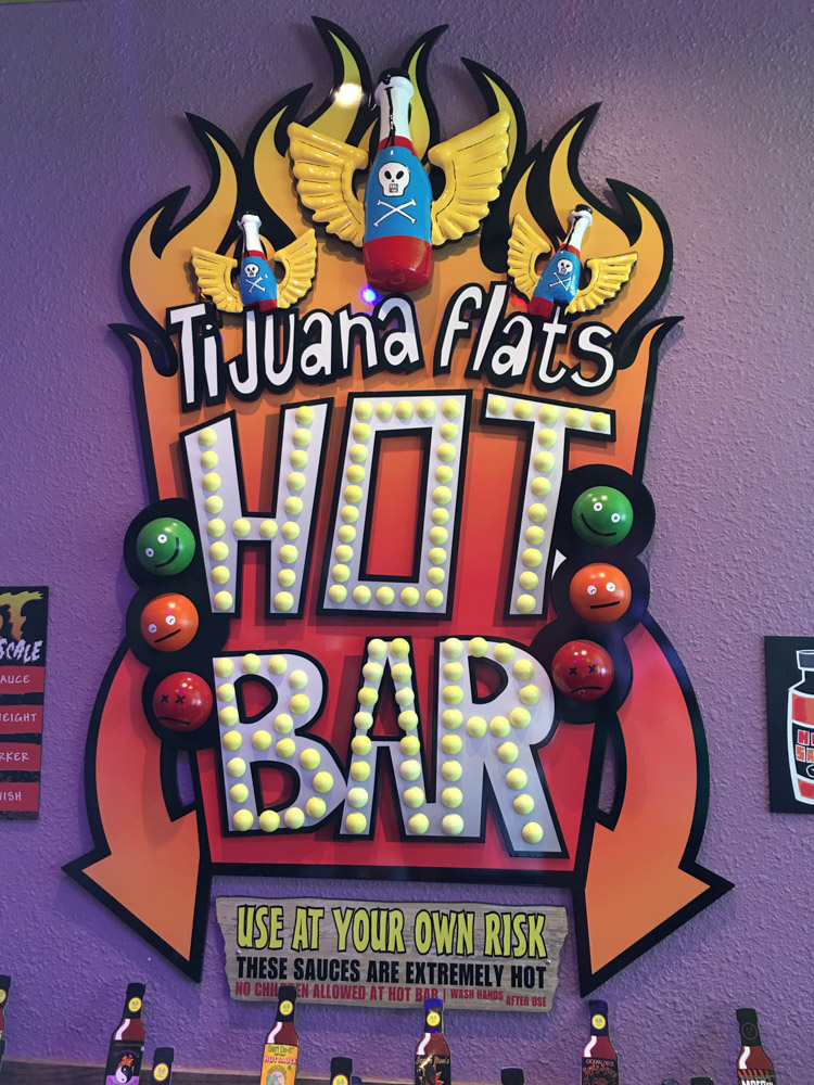 Tijuana Flats Hot Bar