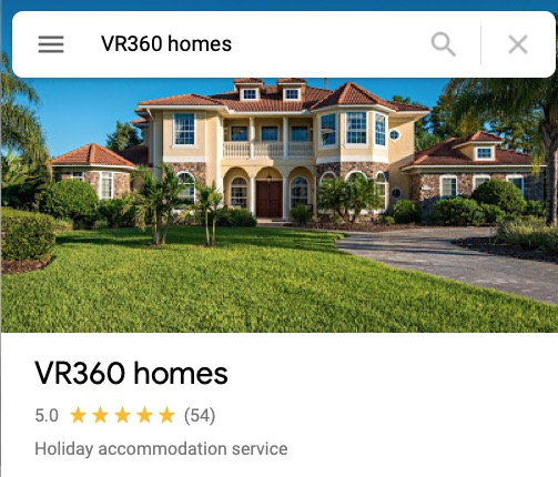 VR360homes Google Reviews