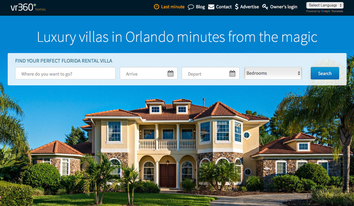 Orlando Vacation Rentals - VR360homes