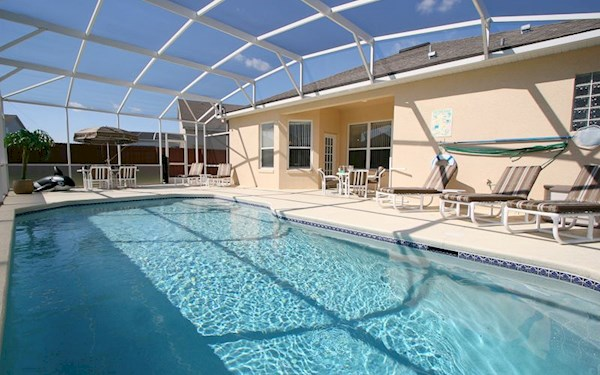 Hampton Lakes Luxury 4 Bedroom 3 Bath Florida Villa (Sleeps 8)