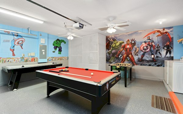Sandy Ridge Orlando Villa Games Room