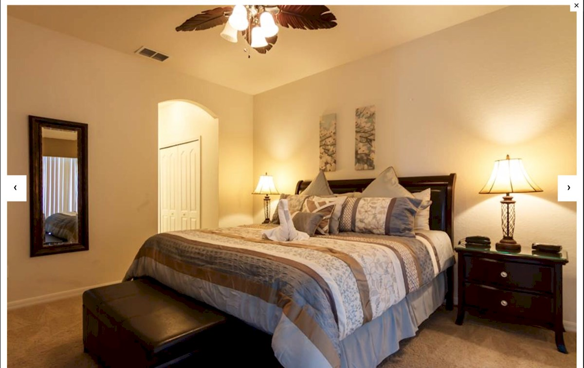 master bedroom downstairs maywood house luxurious 5 bed 4 bath orlando villa on 12268