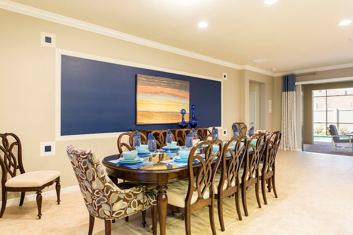 Dining Room, Access to Pool Deck