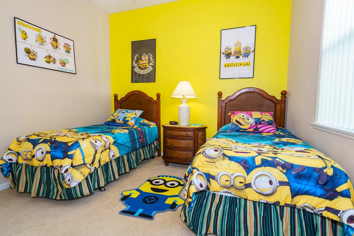 Minion Bedrooms: Viburnum Villa, The Estates At Legacy Park, 5 ...