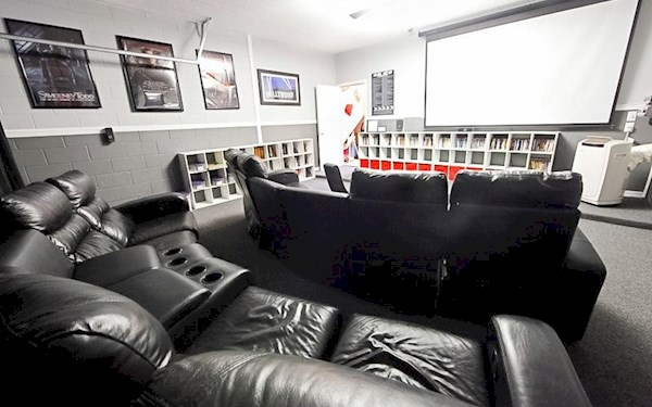 Movie Theatre Room over 300 films!