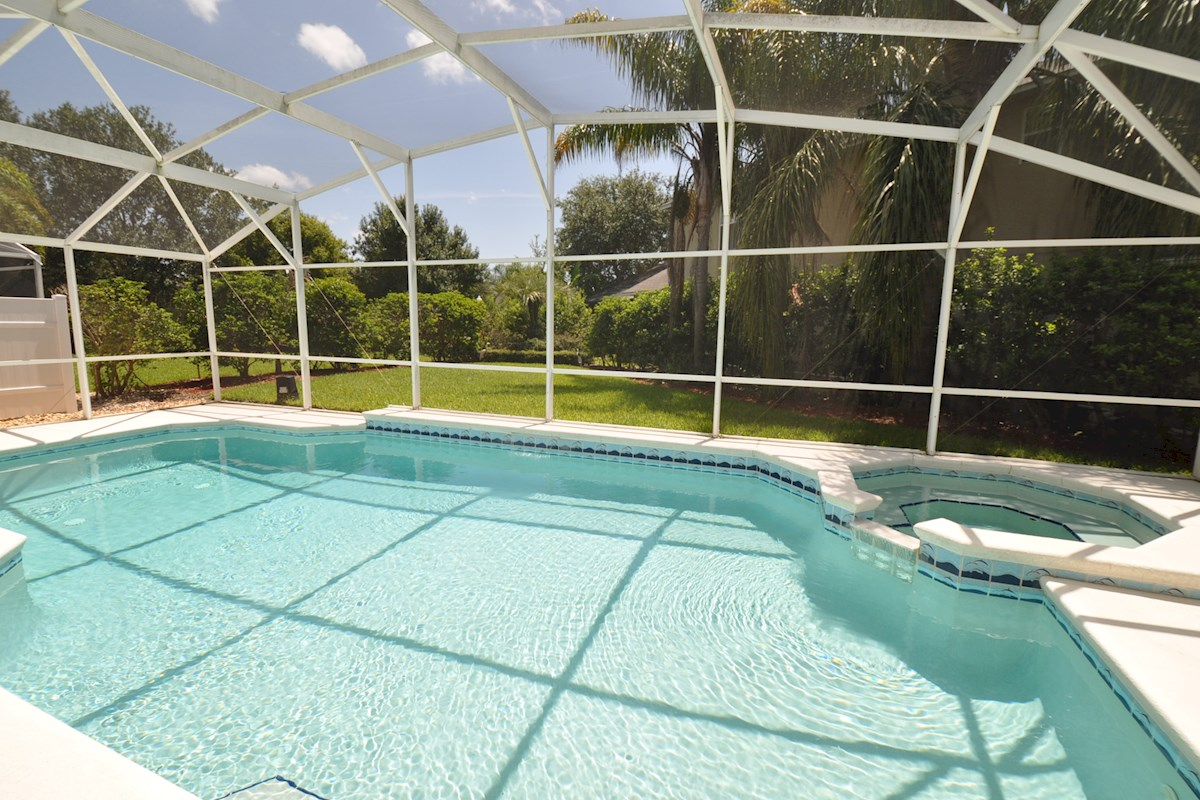 Oak Island Cove Villa Pool Area