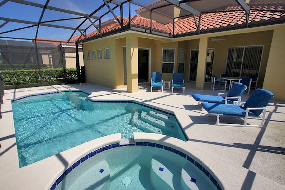 Tuscan Hills Luxury 5 Bedroom 4 Bath Orlando Villa
