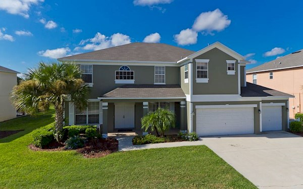 Emerald Island Resort Luxury Orlando Villa 7 Bed 6 Bath