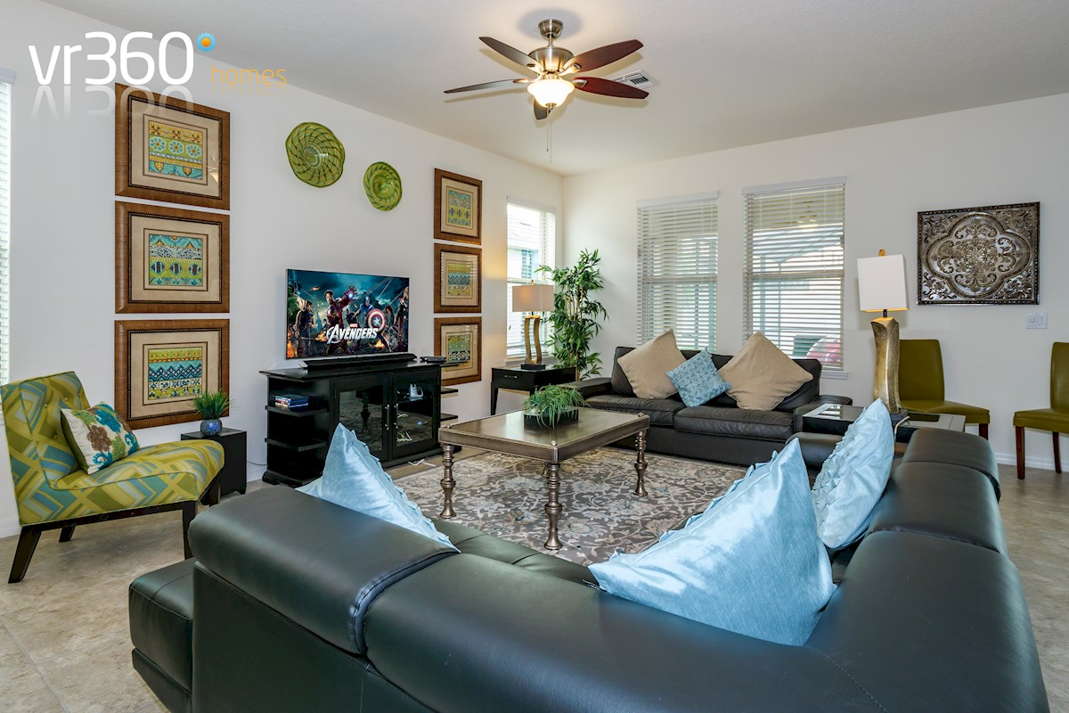 Dales at West Haven Villa | Family Room