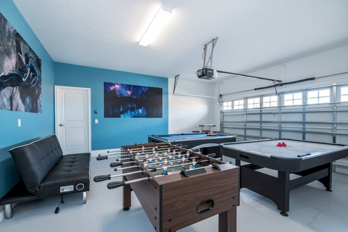 Champions Gate Villa Games Room