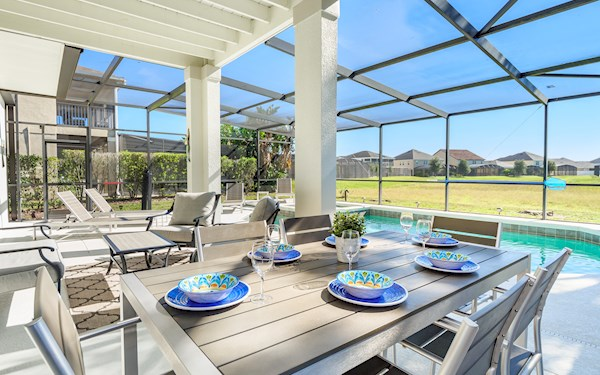 South Facing Pool | Shire at West Haven Villa