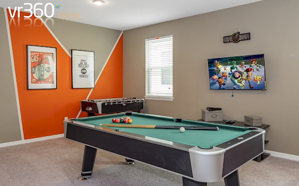 Upstairs Game Room