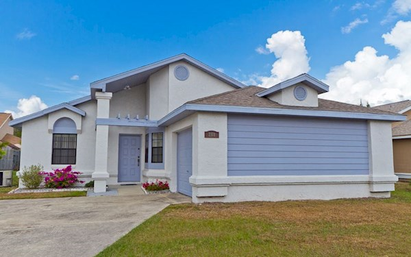 2 Bedroom 2 Bath Villa in Kissimmee with Private Pool